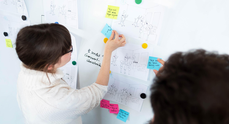 UX Design Prozess - Bewertung und Ausarbeitung von Key Visuals