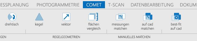 Beispiel-Icons in einer Anwendung