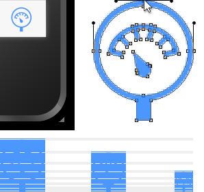 Beispiel Icon in verschiedenen Größen