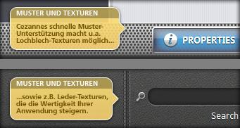 Muster und Texturen