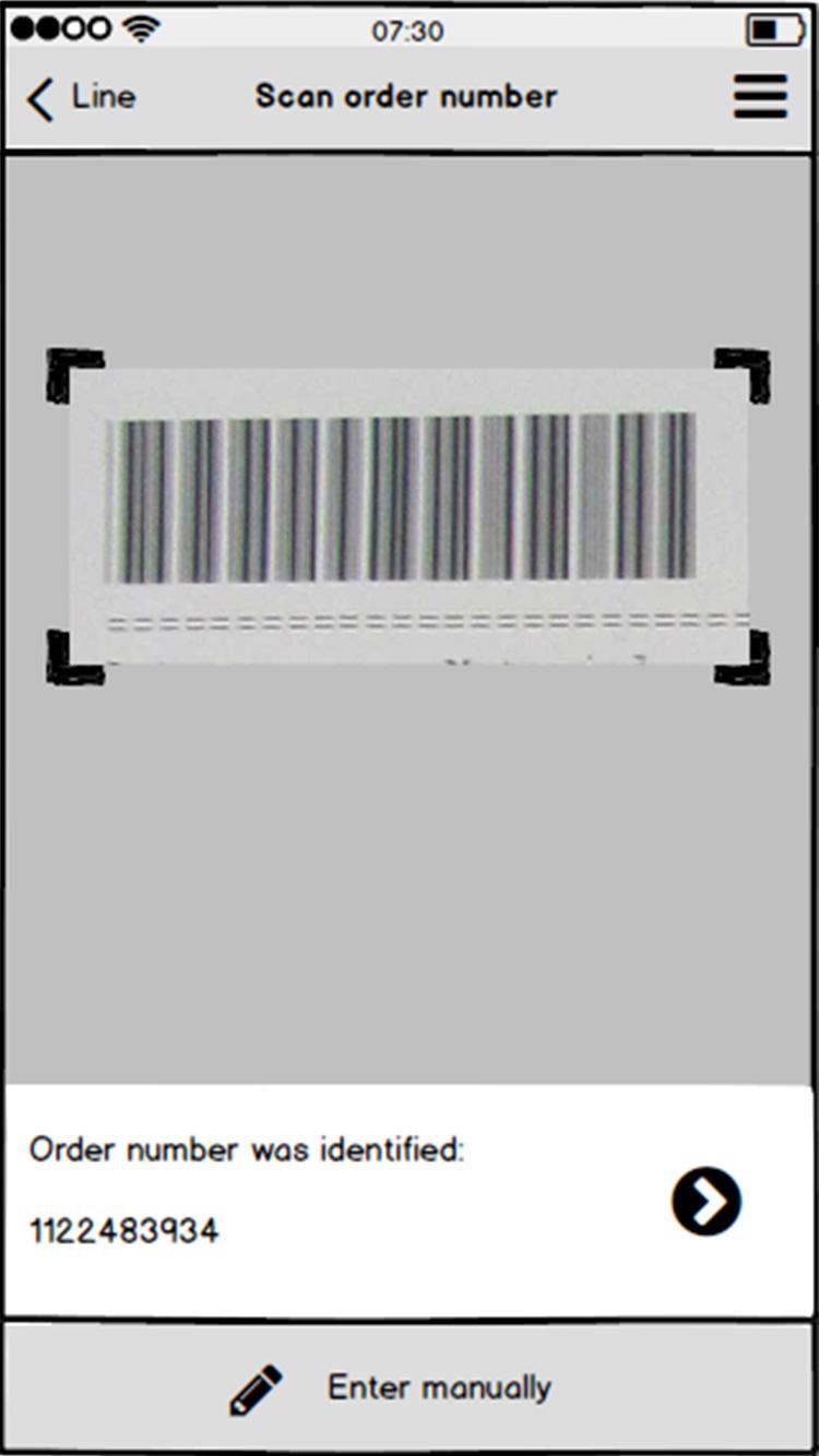 Bosch Rexroth Scan Order Number Wireframe