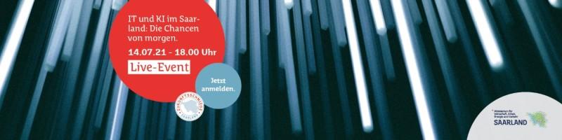 Online Event IT und KI im Saarland