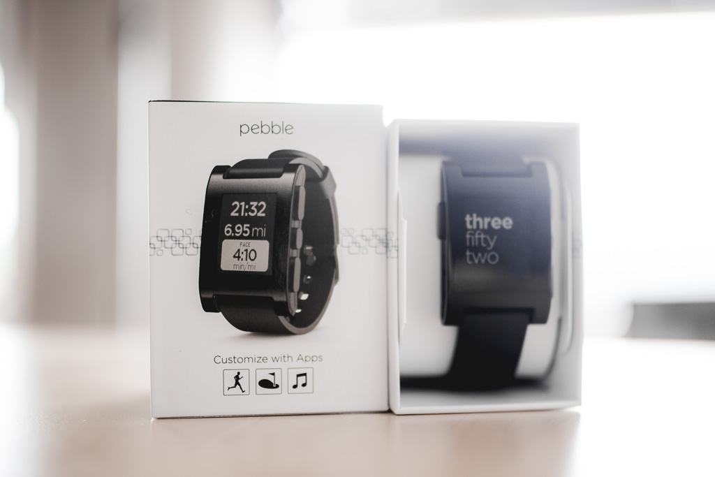 Unboxing the Pebble