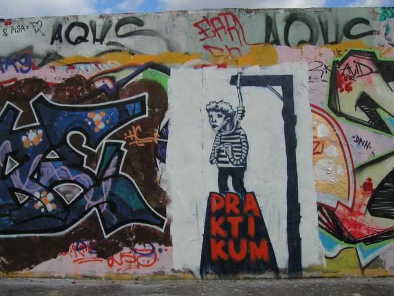 Graffiti im Mauerpark Berlin