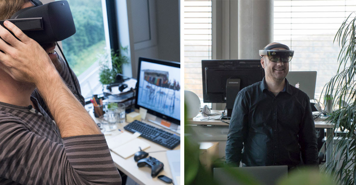 VR-Brille vs AR-Brille