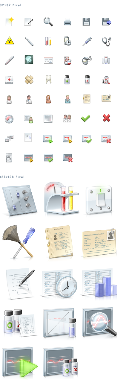Centigrade's free medical icons - the MedicalSeries.