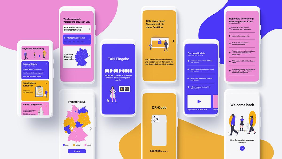 Corona Warn App Redesign Keyvisual