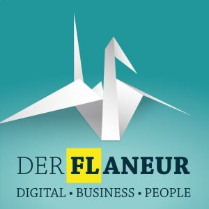 "Podcast ""Der Flaneur Digital Business People"" Visual"