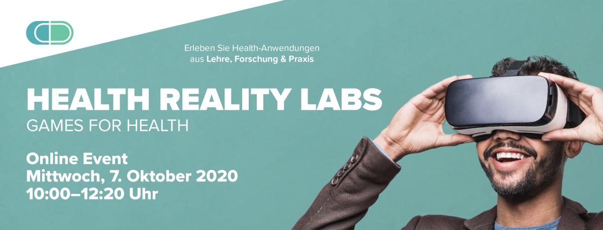 Health Reality Lab Veranstaltung