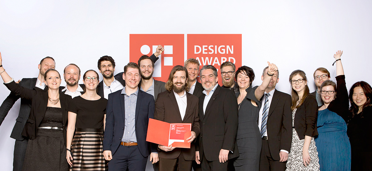 iF Design Award Photo Centigrade & Trumpf