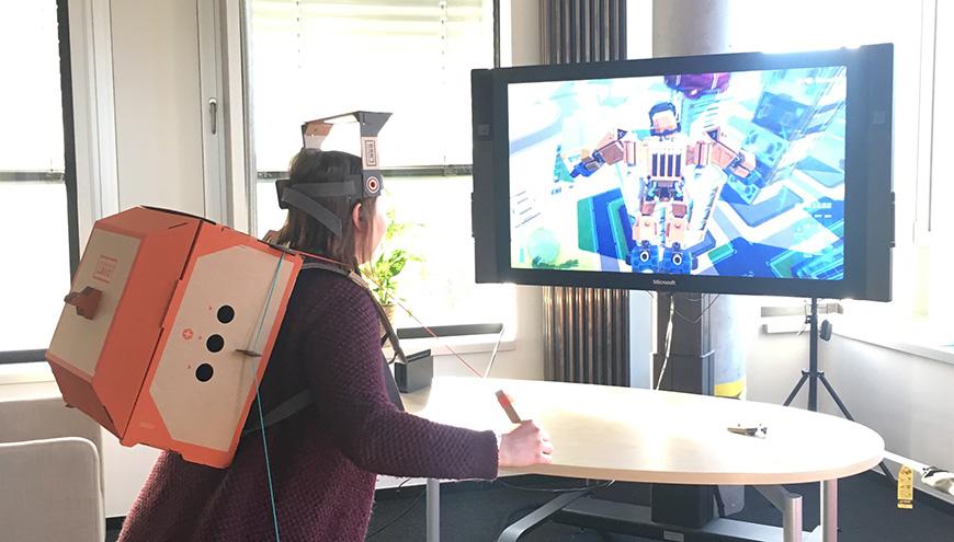 Spiele Test Nintendo VR