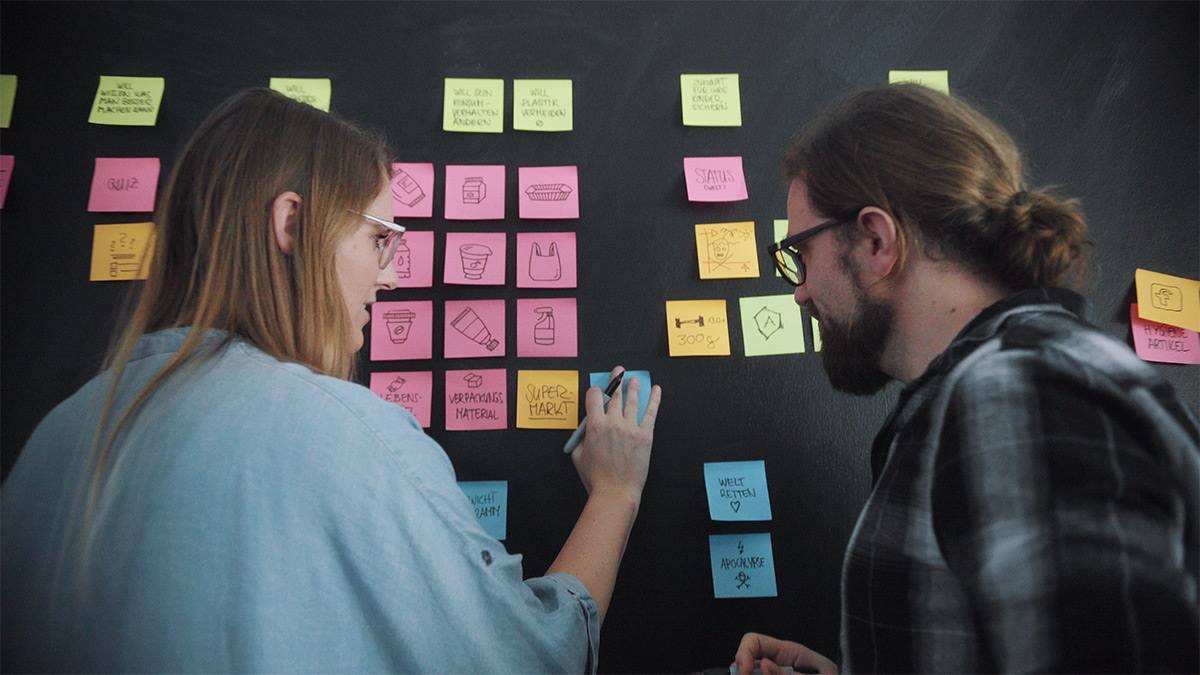 User Stories Sticky Notes