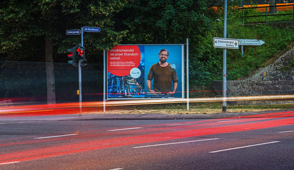 Zukunftsschmiede Kampagne Plakat Thomas Immich
