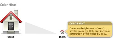 Color hints