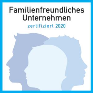 Familienfreundliches Unternehmen 2020
