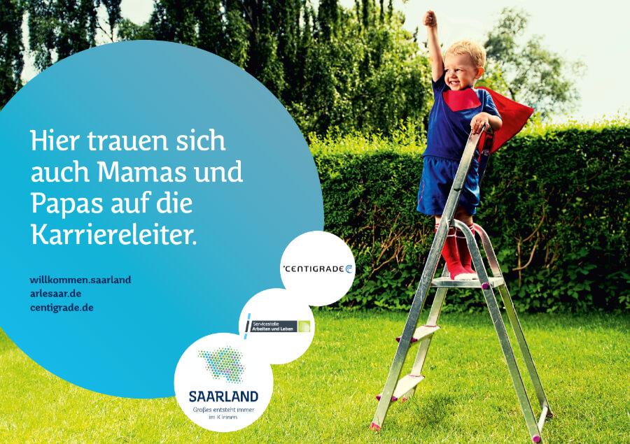 Familienfreundliches Unternehmen Plakat