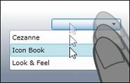 Combobox - Mouse & Touch Auswahl