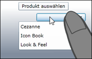 Combobox - Mouse und Touch Tooltip