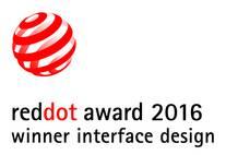 Red Dot Award 2016 Winner Interface Design