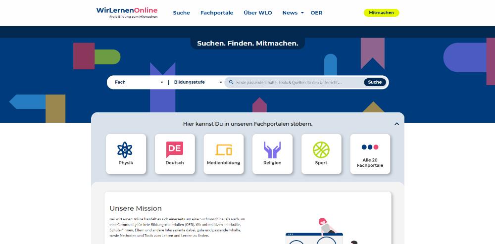 WirLernenOnline Startseite
